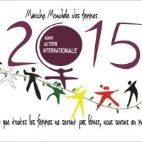 Rassemblement national dans le cadre de la Marche Mondiale des Femmes