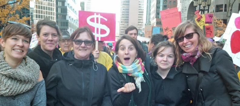 Mobilisation contre l'austérité